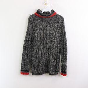 90s Calvin Klein Mens Large Turtleneck Sweater